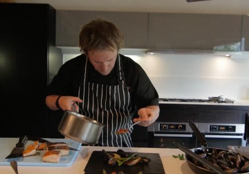 Head Chef, Nick Lyon Dean
