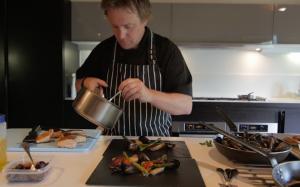 Head Chef Nick Lyon Dean