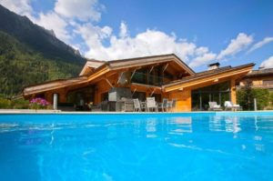 Chalet Couttet Swimming Pool