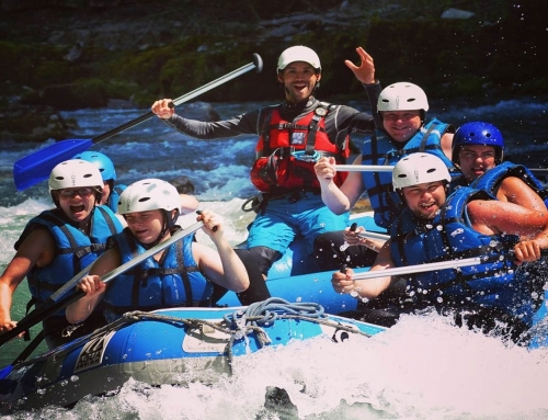 Summer In The Alps: White Water Rafting