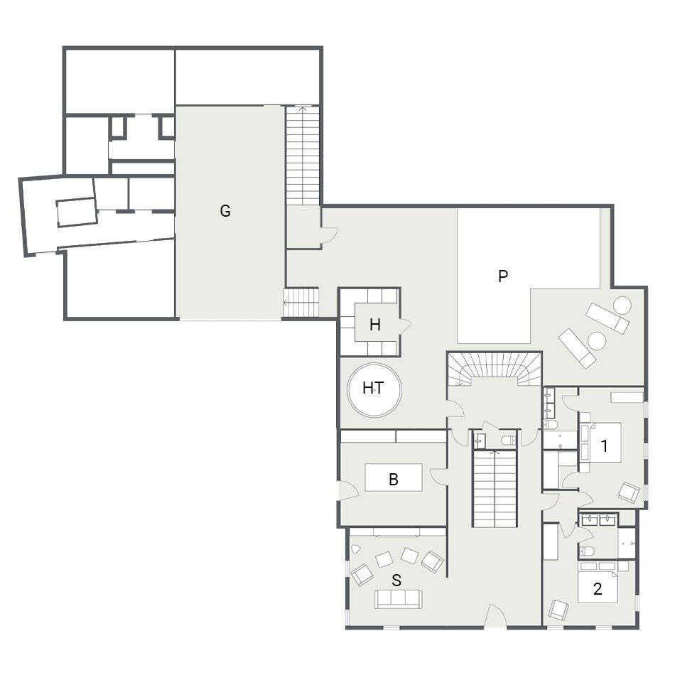 La Maison Ground Floor