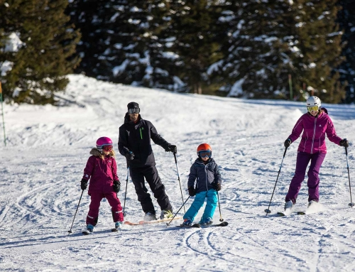 Skiing With Young Children (3 – 7 years)